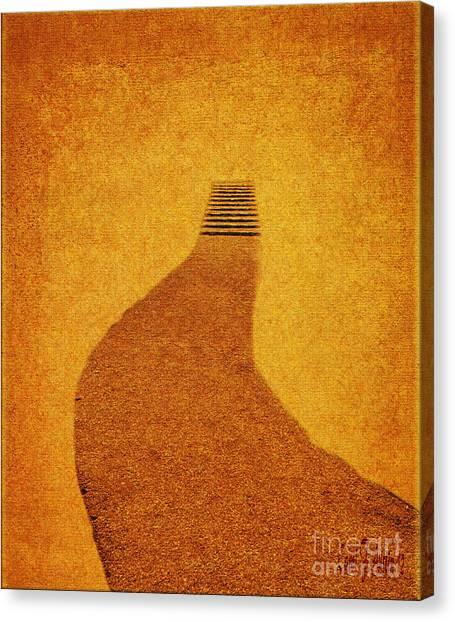 The Journey Pathway Minimalism Canvas Print
