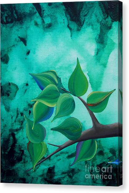 The Journey Tryptych 1 Canvas Print