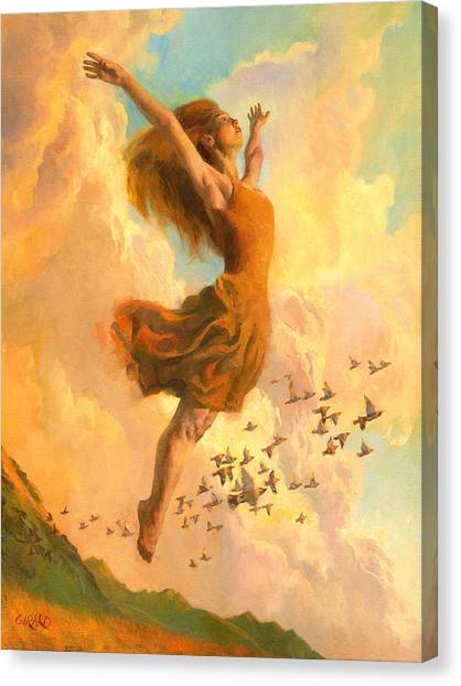 Ballet Canvas Print - The Joy Of Life by Francois Girard
