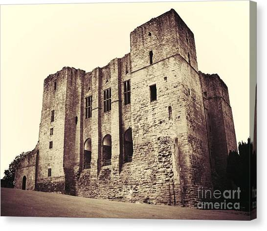 The Keep Canvas Print