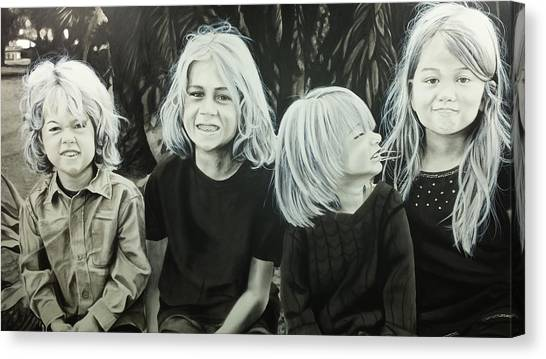 The Kids Canvas Print