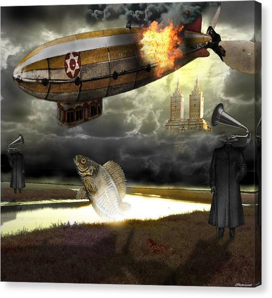 The Kingdom Of Silence Canvas Print by Larry Butterworth