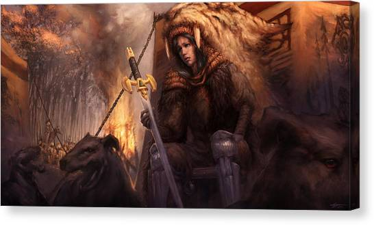 The King's Remains  Canvas Print by Ethan Harris