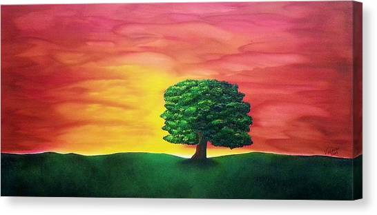 The Knowing Tree Canvas Print