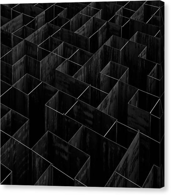 Modern Architecture Canvas Print - The Labyrinth II by Gilbert Claes