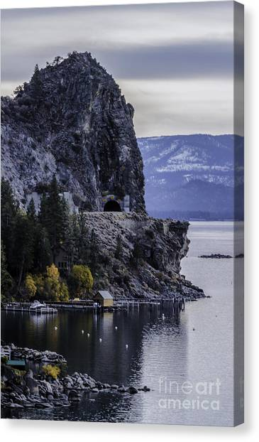 The Lady Of The Lake Canvas Print