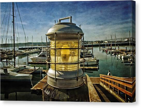 The Lamp At Embarcadero  Canvas Print