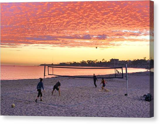 Ucsb Canvas Print - The Last Game by Allen Feld