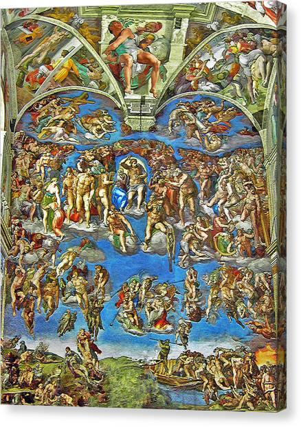 The Last Judgement Canvas Print