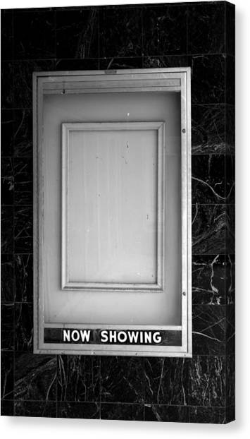 The Last Picture Show Canvas Print by Vince  Risner
