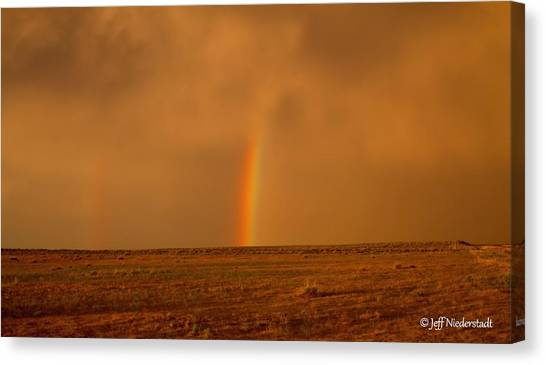 The Last Rainbow Canvas Print