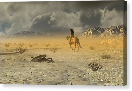 The Last Ranger Canvas Print