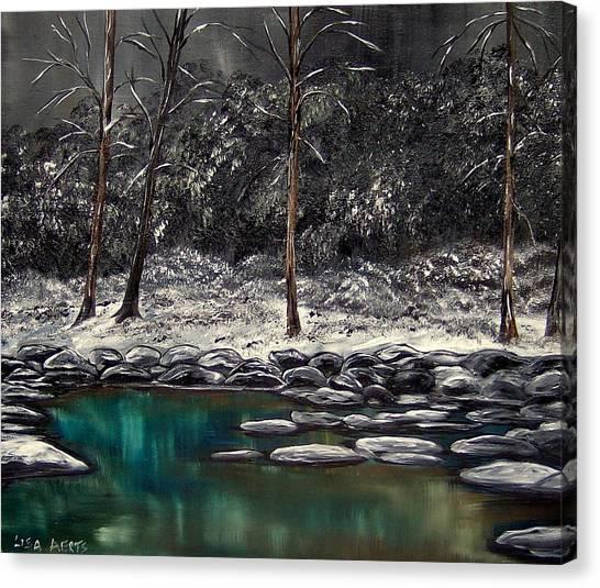 The Last Snowfall Canvas Print