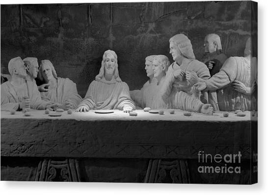 The Last Supper Canvas Print by David Ricketts