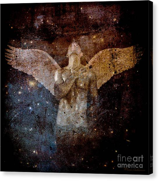 Bodybuilder Canvas Print - The Last Angel  by Mark Ashkenazi
