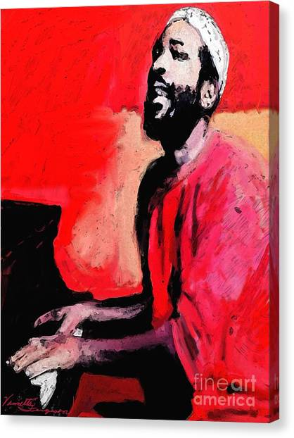 The Late Great Marvin Gaye Canvas Print