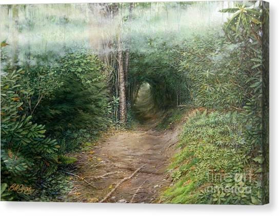 The Laurel Hells Canvas Print