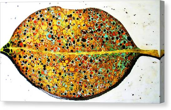 Canvas Print - The Leaf by Emil Bodourov