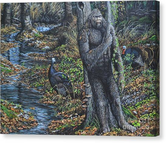 The Legend Of Gobble Creek Canvas Print