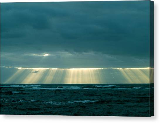 The Light Above Kapoho Canvas Print