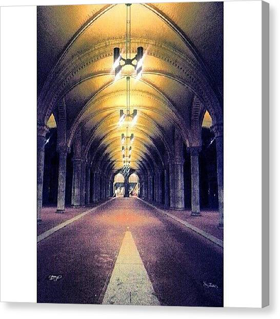 Rijksmuseum Canvas Print - The #light At The End Of The #tunnel by John Ashworth