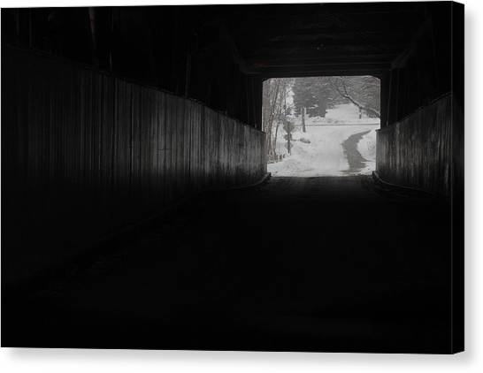 The Light At The End Of The Tunnel Canvas Print