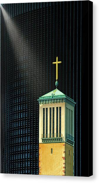 Background Canvas Print - The Light Beam by Anette Ohlendorf