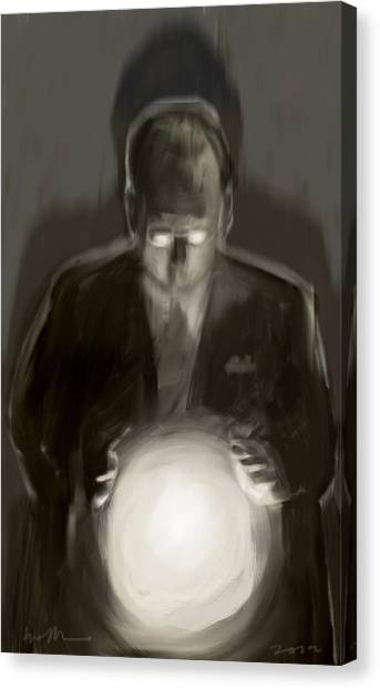 Seer Canvas Print - The Light by H James Hoff