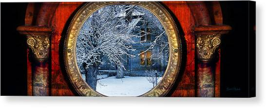 The Light In The Window Canvas Print