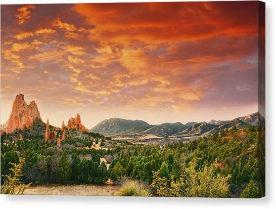 The Light Of Day Canvas Print