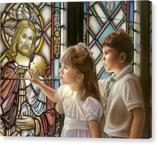 The Light Of Faith Canvas Print