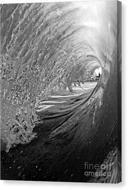 The Lighthouse At The End Of The Tunnel Canvas Print