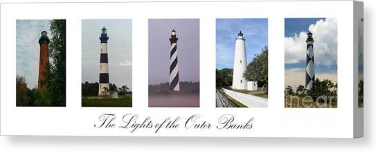 The Lights Of The Outer Banks Canvas Print