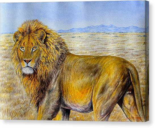 The Lion Rules Canvas Print