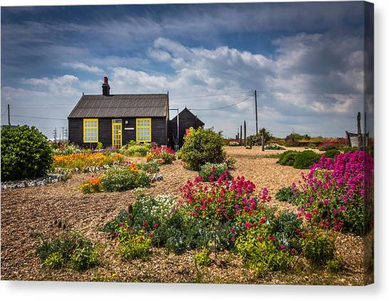 Canvas Print featuring the photograph The Little House. by Gary Gillette
