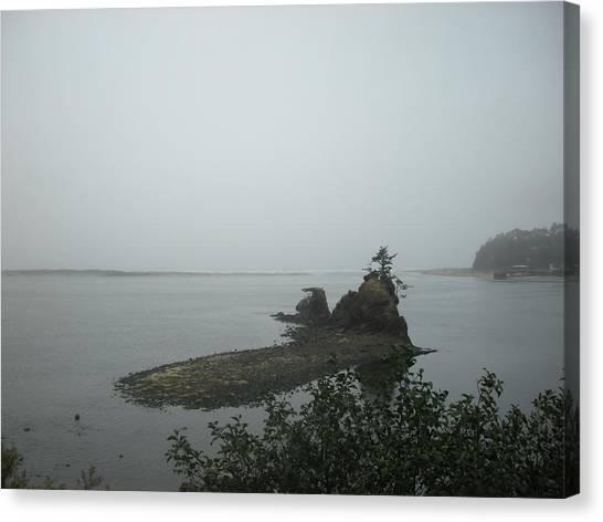 The Little Island Canvas Print