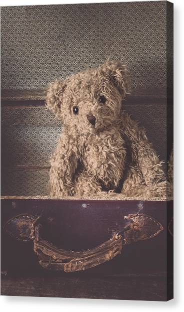 Sadness Canvas Print - The Little Vagabond by Amy Weiss