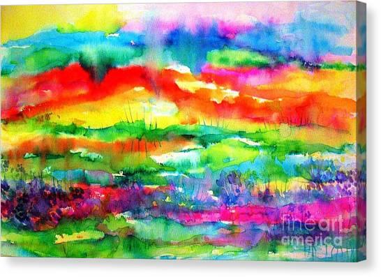 The Living Desert Canvas Print
