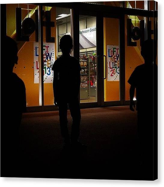 Plus Canvas Print - The loft Gang - #store #japan by Kenichi Iwai