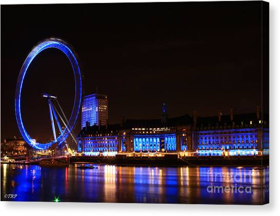 The London Eye  Canvas Print by Size X