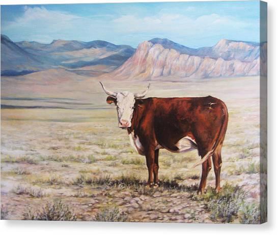 The Lone Range Canvas Print