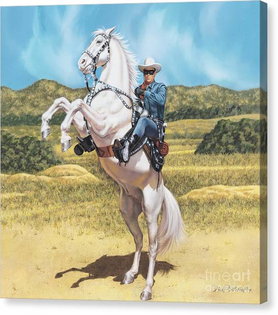 The Lone Ranger Canvas Print