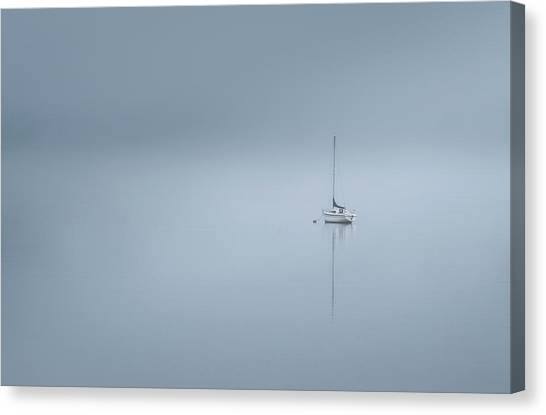 Ireland Canvas Print - The Lonesome Boatman by David Ahern