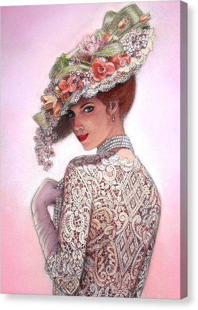 Punk Canvas Print - The Look Of Love by Sue Halstenberg