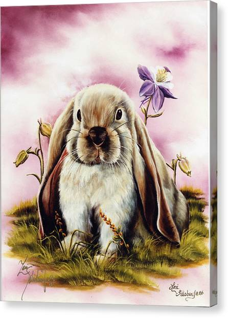 Canvas Print - The Lop by Lori Salisbury