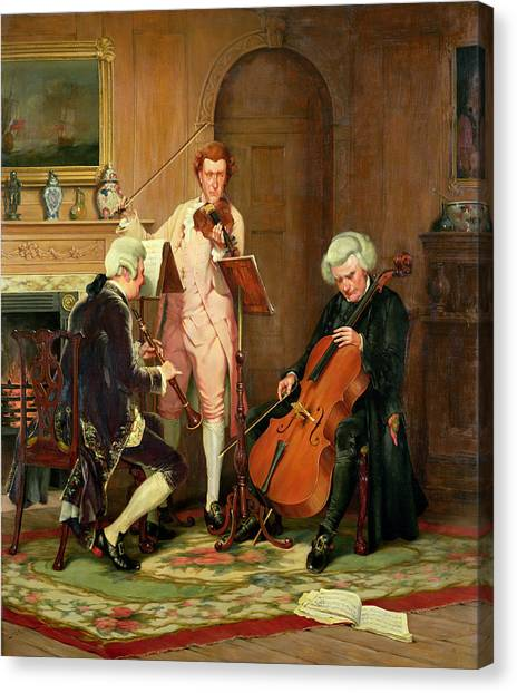 Clarinets Canvas Print - The Lost Chord by Stephen Lewin