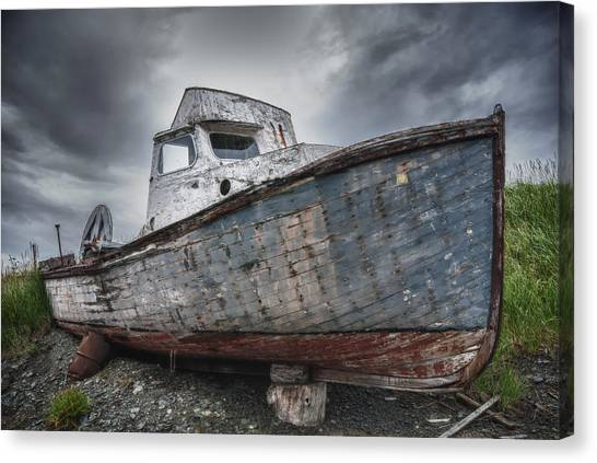 The Lost Fleet Dry Dock Canvas Print