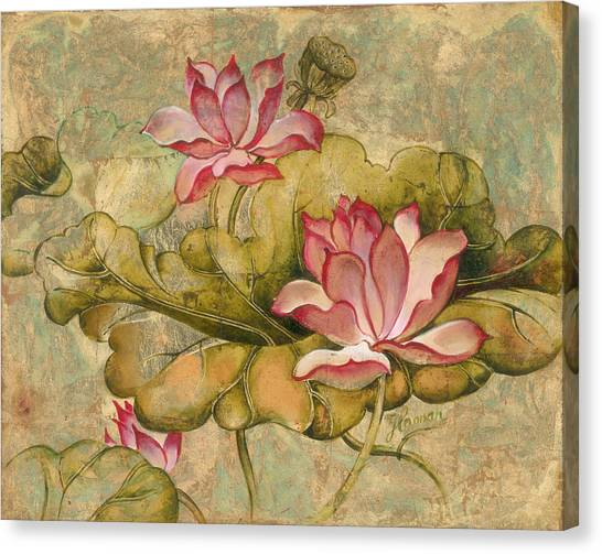 The Lotus Family Canvas Print