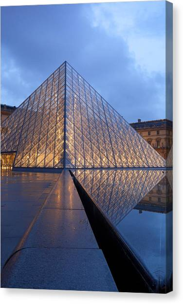The Louvre Paris Canvas Print