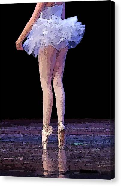 The Love Of Dance Canvas Print by Thomas Fouch